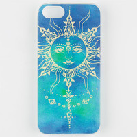 Wildflower Henna Sun Iphone 5/5S Case Blue Combo One Size For Women 25407524901