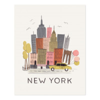 NYC Art Print by RIFLE PAPER Co. | Made in USA