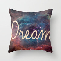 Dream  Throw Pillow by Pooja Patel | Society6