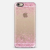 Pink Sparkly Glitter Burst iPhone 6 case by Organic Saturation | Casetify