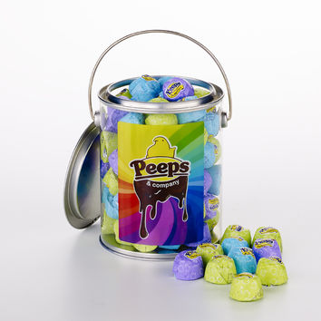 PEEPS & Company Online Candy Store: Shop Now : DARK CHOCOLATE PEEPSTERS GIFT PAIL