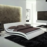 Unique Contemporary Bed - Opulentitems.com