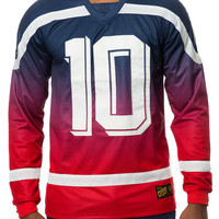 The Bruisers Polyknit Hockey Jersey in Red
