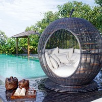Striking Outdoor Daybed Furniture - OpulentItems.com Igloo Daybed