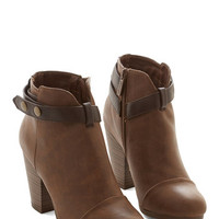 ModCloth Smart Style Bootie
