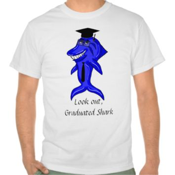 Graduated Shark Shirts