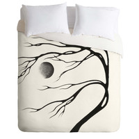 Madart Inc. Modern Dance Moon Song Duvet Cover