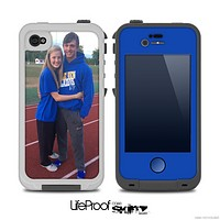 The Add Your Own Photo Skin for the iPhone 4-4s frē LifeProof Case