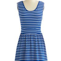 Tulle Clothing Nautical Mid-length Tank top (2 thick straps) A-line Lakeshore Picnic Dress