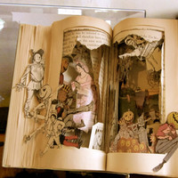 Altered Book Autopsy Your Not in Kansas by Raidersofthelostart