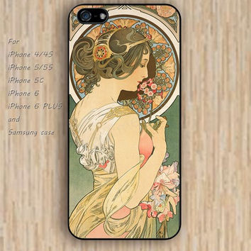 iPhone 6 case dream beautiful woman iphone case,ipod case,samsung galaxy case available plastic rubber case waterproof B160