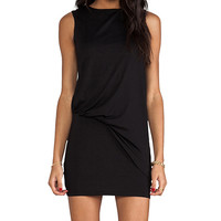 "Susana Monaco Light Supplex Mika 17"" Dress in Black"