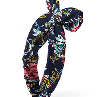 FOREVER 21 Soft Floral Headwrap