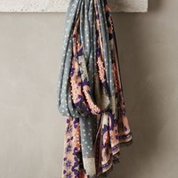 Mountain Violet Scarf by Anthropologie Peach One Size Scarves