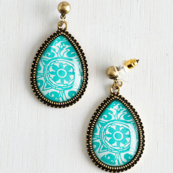ModCloth Boho Tide for First Place Earrings