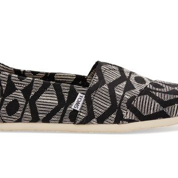 Black White Cultural Woven Men's Classics