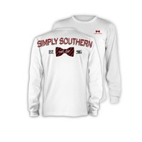 Palmetto Moon | Simply Southern USC Bow Tailgate Long Sleeve T-shirt | Palmetto Moon
