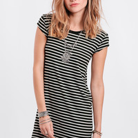 Instant Classic Striped Tunic Dress