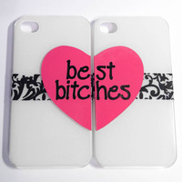 Best Bitches iPhone 4 cases by VanityCases on Etsy