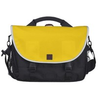 Yellow Canary Fashion Solid Color Commuter Bag