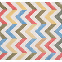 Marchy Rug, Ivory/Multi, Area Rugs
