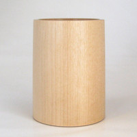 Pencil Cup Handcrafted in Birch