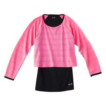 C9 by Champion® Girls' Long-Sleeve 2-Fer Top - Assorted