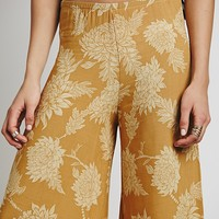 Free People Andy Cropped Gaucho