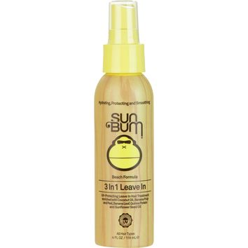 Sun Bum Beach Formula 3-in-1 Leave in Hair Care One Color, 4.0oz/118ml