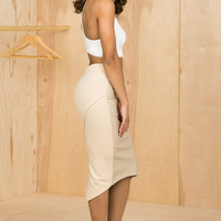 True Nude Pencil Skirt