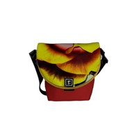 Colorful Artistic Yellow Rose Courier Bag