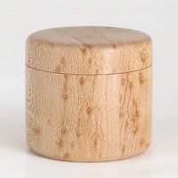 Handcrafted Box in Birdseye Maple