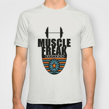 MUSCLE FREAK T-shirt by Robleedesigns