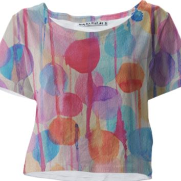Melted Candy Crop top created by duckyb | Print All Over Me