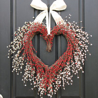 Holiday Wreath  The Kissing Wreath for Christmas  by twoinspireyou