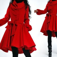 wool coat 043 by YL1dress on Etsy