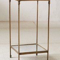 Georgina Speckled Mirror Side Table - Urban Outfitters
