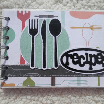 4 x 6 Chipboard Recipe Book