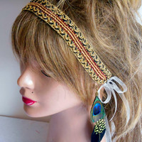 Hair band, Authentic Hair Band, Hair Band boho, hippie head, Gypsy Head, Tribal Head