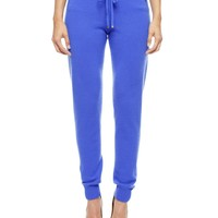 SLIM CASHMERE TRACK PANT by Juicy Couture,