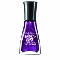 Sally Hansen Insta-Dri Fast Dry Nail Color, Pronto Purple, 0.31 Fluid Ounce