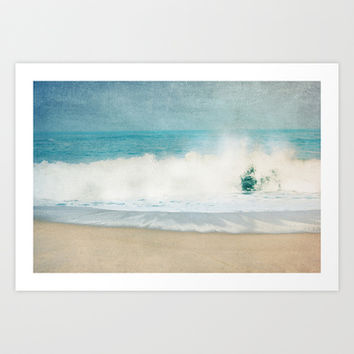 ocean blues Art Print by ingz