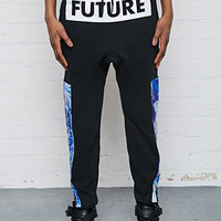 L.A.T.H.C. Abstract Print-Paneled Sweatpants