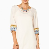 ALONNA SHIFT DRESS IN TAUPE