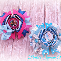 Disney Frozen ( Anna, Elsa Hairbow)