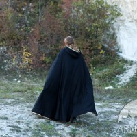 """Medieval Fantasy Lined Cloak """"Knight of the West"""""""