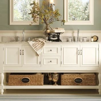 Newport Double Sink Console