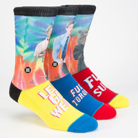 Stance Workaholics Mens Athletic Crew Socks Multi One Size For Men 25223695701