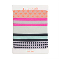crewcuts Girls Knotted Hair Ties Five-Pack
