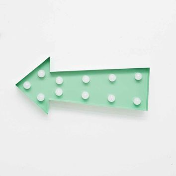 Arrow Lamp in Mint - Urban Outfitters